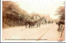 GFS trip to Waunifor 1906