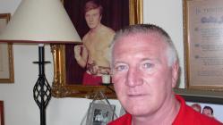 Photograph of boxer Colin Jones