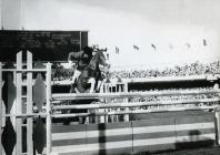 Photograph of the show-jumper David Broome