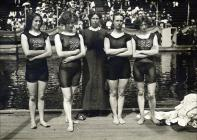 Irene Steer (far right) and the rest of the GB...