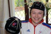 The wheelchair rugby player Jason Roberts