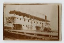 Photograph of Hospital barge during WW1, Egypt...
