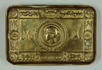 Princess Mary WW1 Christmas 1914 gift, tin and...