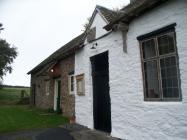 Maesyronnen chapel: south west door looking...