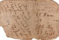 First World War postcard sent to Egypt