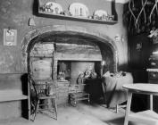 The main living room at Trecastell near...
