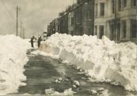 Borth under snow