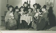 Ladies of Borth in Welsh costume