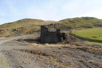 Crusher house at Dyffryn Castell