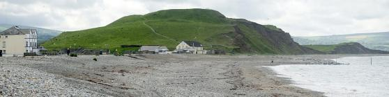 Dinas Dinlle Hillfort panorama