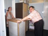 Moving in to Canton House