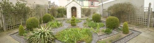 Gardd Plas Mawr, Conwy