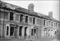 Difrod bom, Stryd Blackstone, Caerdydd, 1941