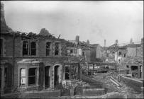 Difrod bom, Stryd Craddock, Caerdydd, 1941