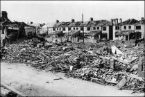 Difrod bom, Stryd St Agnes, Caerdydd, 1941