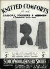 'Knitted Comforts for our Soldiers, Sailors and...