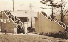 Dr Williams' School Bridge opening in 1938