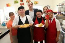 Commissioner visits Ammanford community cafe