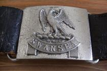 Swansea County Borough Police belt and buckle.