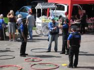 Community police at Llangeinor summer fair, 2013