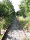 Disused railway line at Llangeinor, 2013