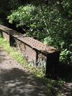 Railway bridge over the river Garw at...