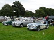 Cars belonging to Colin Genner at Tredegar...