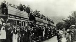 Rheilffordd Abertawe a'r Mwmbwls c1910