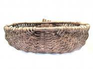 Split hazel frame basket