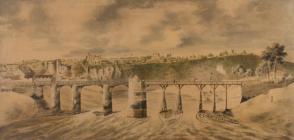 Old Chepstow Bridge - unknown (British School)
