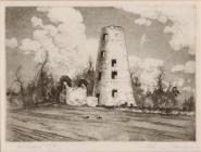 Llancayo Mill, Usk - Saunders, Roy