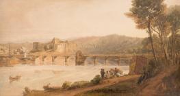 Chepstow Castle - Barret, George (Junior)
