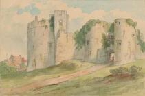 Chepstow Castle - unknown (British School)