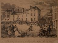 Attack of the Chartists on the Westgate Hotel,...