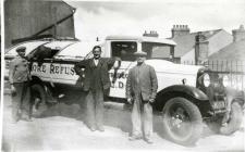 Ash Lorry T U D C Tredegar 1950
