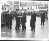Commercial Street Tredegar Opening the Bus Station