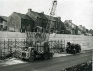 Construction of the Heads of the Valley Road...