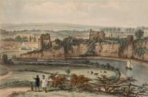 Chepstow From the Alcove, Piercefield Park -...
