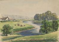 River Usk - Saunders, Eric