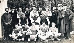 Mumbles Football Team 1907-1908