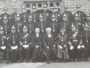 Glamorgan Constabulary group, Cowbridge.