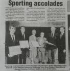 Sporting Accolades: The Chronicle, March 3rd 1994