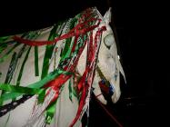 Mari Lwyd performed in Chepstow
