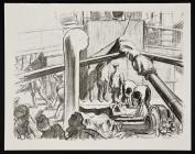 On Board a Hospital Transport - Claude Shepperson
