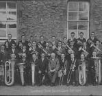 Band Arian Tref Llanrwst, Hydref, 1924
