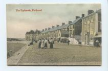 The Esplanade, Porthcawl postcard