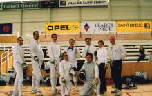 Aberystwyth Town Fencing Team at St Brieuc, 2003