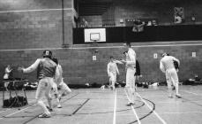 Aberystwyth Fencers at the Shropshire Open, 2003