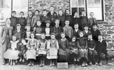 Llanfihangel y Creuddyn School c. 1900