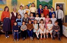 Llanfihangel y Creuddyn School 1986-87